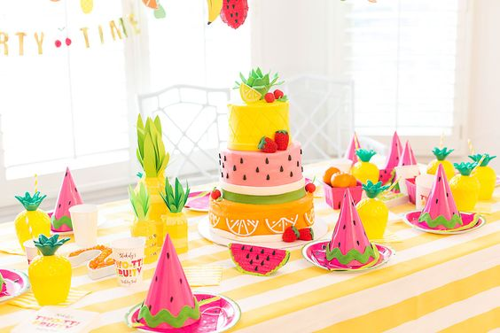Party Decor-Fruit Party.1