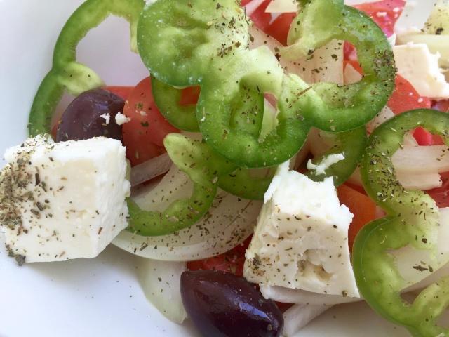 FOOD-Insalata Greca e Tzatziki.2