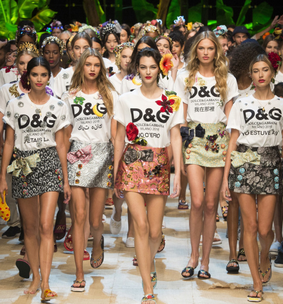 DOLCE & GABBANA – LESS IS NOT MORE